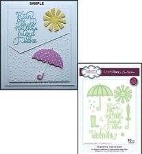 Creative Expressions Sue Wilson Necessities Collection Rain or Shine Die Set