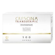 LABO CRESCINA TRANSDERMIC RICRESCITA + ANTICADUTA 500 Capelli Donna 10+10 Fiale