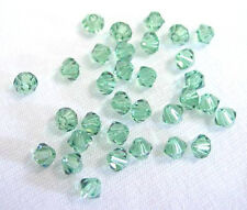 48 ERNITE SWAROVSKI CRYSTAL # 5328 BICONE BEADS 4MM