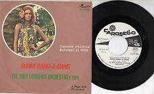 MIKE LORRAYNE ORCHESTRA  disco 45 giri EUROVISION Italy BOOM BANG A BANG