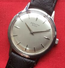 Vintage ZENITH GENTS 3100 17J Cal 2310 Verithin Manual DressWatch serviced 90's