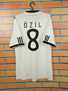 Ozil Germany jersey 2010 2012 Home MEDIUM Shirt Adidas Football Soccer