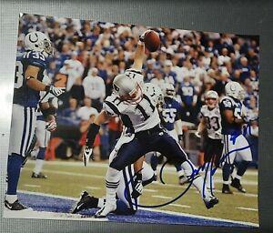 Autographed 8x10 Color Photo New England Patriots Julian Edelman