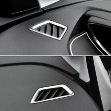 for Peugeot 3008 GT / 3008 2016-2019 Silver Upper Air Vent Outlet Cover Trim 2*