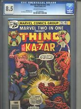 Marvel Two-In-One #16 CGC 8.5 (1976) Thing & Ka-Zar