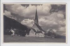 AK Seefeld, Kirche, Foto-AK 1921