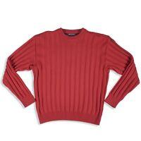 8622 Paul & Shark Ribbed Crew neck Yachting Sailing Designer Mens Sweater Sz M