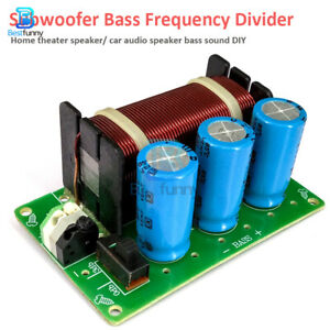 200W Pure Bass Subwoofer Speaker Frequency Divider One Channel Crossover Filters