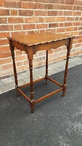Vintage Wooden Table with Pie Crust Edge (local delivery possible)