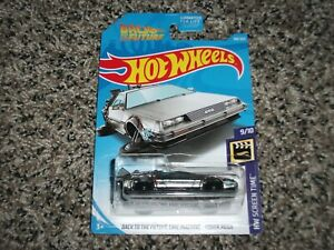 2019 HOT WHEELS SUPER TREASURE HUNT BACK TO THE FUTURE DMC DELOREAN HOVER MODE