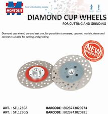 Montolit STL125GF Fine Diamond MULTI- PURPOSE Grinding Wheel