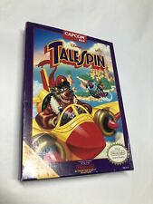 Disney's TaleSpin Nintendo NES Box and Manual