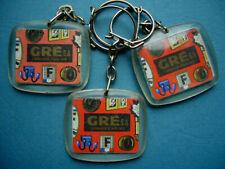 Keychain - Portachiavi - Lot 3 PC Accessoires Automobile GRE (verso Blasons)