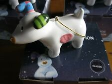 SNOWMAN SNOWDOG FOR ONE ONLY * CLASSIC * CHRISTMAS TREE DECORATIONS ORNAMENT NE
