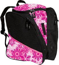 NWT Transpack Pink Snowflake Ice Figure Skate Backpack Bag