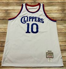 Mitchell Ness LOS ANGELES CLIPPERS Jersey NORM NIXON Vtg 1984-1985 NBA White 54
