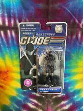 GI JOE Cobra Series - Snake Eyes - Renegades Cartoon 30th Brand New In Box