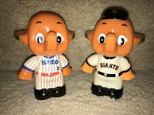 EXTREMELY RARE San Francisco Giants and Generic SATO Bank Figurine / Not Bobble