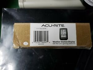 AcuRite 06047M Color Weather Station ONLY Can Detect Lightning Temperature Rain