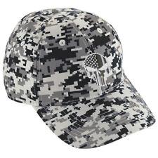 GOLD Line Skull Dispatch Dispatcher Digital Camo Camouflage Baseball Hat Cap
