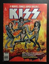 KISS 1977 DESTROYER Comic Book Marvel Stan Lee Real KISS BLOOD in the INK!