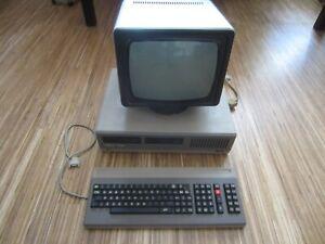 Computer PC Robotron 1715 + Monitor + Tastatur Rarität aus der DDR