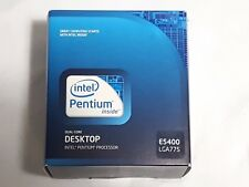 NEW Intel Pentium E5400 2.7GHz Dual-Core Desktop Processor CPU SEALED LGA775
