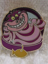 2013 Disney Cat Cheshire Wonderland Collar Magical Mystery Trading Pin Series 5