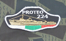 Bulgarian Army NAVY Battle Rescue Ship PROTEO Cap PATCH