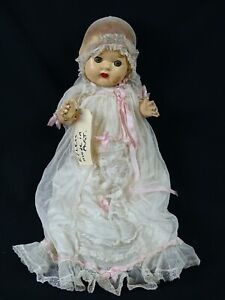 Antique Australian Peerless Compostion Doll Pre 1930s in dress