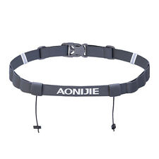 Aonijie E4050 Running Marathon Belt With Number Strap & 6 Loops for Energy Gel