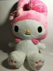 My Melody Big Plush Doll Pink 38cm USED Mint From Japan