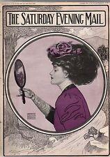 1907 Saturday Evening Mail June 8 - Harlem Regatta; West Point Cavalry; Teddy