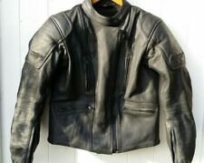LADIES RST PERFORMANCE WEAR SIZE 14 BLACK LEATHER BIKER JACKET, GREAT CONDITION.
