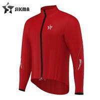 Women Rain Jacket Coat Cycling Waterproof Jacket Rain Suit Top High Viz Red