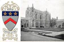 Embossed Keble College, Coat of Arms, Founded a.d. 1870