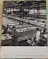 1954 Cambodge la Coagulation du Latex dans 1 usine des Terres-Rouges caoutchouc