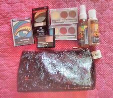 NWT 8 pc Set Make-up & Bag BATH & BODY WORKS & CALGON Spray Lotion Eyes Lips SG