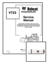 Bobcat V723 VersaHANDLER Workshop Repair Service Manual 6902760 USB + Download