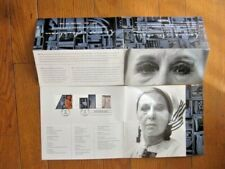 SCULPTOR LOUISE NEVELSON 2000 SET  FIRST DAY CEREMONY FOLDER
