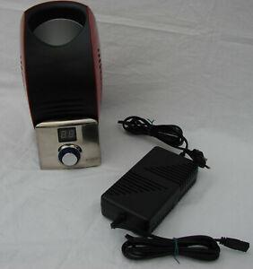 Caso Design Weinkühler Wine Control Rot Schwarz elektrisch  60W