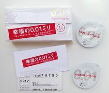 Japan Sagami Original 001 5pcs Ultra Thin Condom 0.01mm Regular size