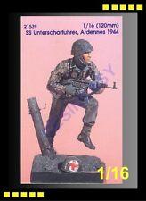 Resin Model Kit Kirin 1/16 120mm SS Unterscharfuhrer,Ardennes 1944 (OOP)-K21539