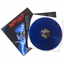 ACCUSER - WHO DOMINATES WHO, LP LTD 100 BLUE VINYL 2016 NO REMORSE NEW
