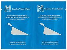 Kokain Wischtest - COCAINE TRACE WIPES (Versandzeit 1 Werktag)