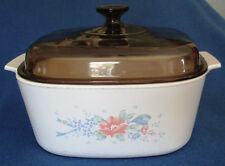 CORNING WARE FLORAL A-5-B CASSEROLE WITH LID