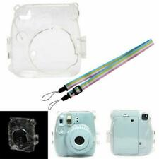 Transparent Plastic Camera Shell Case Cover Bag For Fuji Fujifilm Instax Mini 8