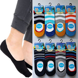 6 Pair Ladies Women Invisible No Show Liner Pump Secret Footsies Socks 4-7