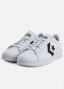 Converse Pro Leather Ox Casual Men's White Leather Sneakers Low Top 167237C
