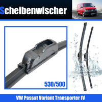 Escobillas Limpiaparabrisas Para VW Passat Transporter IV 530/500mm Wiper
